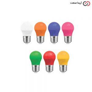لامپ ال ای دی 3 وات رنگی