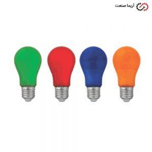 لامپ ال ای دی 9 وات رنگی