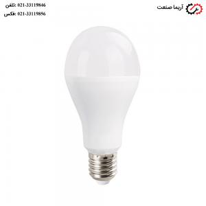 لامپ حبابی LED با توان مصرفی 20 وات