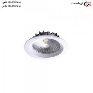 چراغ سقفی توکار 10 وات COB افراتاب