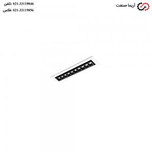 چراغ LED توکار زاویه پذیر