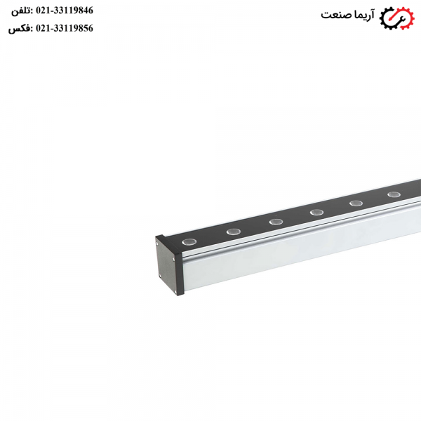 چراغ وال واشر پیوسته 19 وات مازی نور مدل لدیلاین