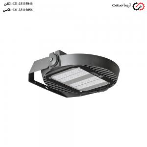 چراغ ای ای دی IP66 خیابانی 140 وات مازی نور مدل ساترن