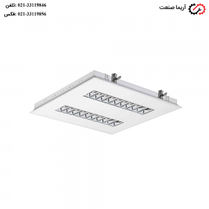 چراغ فلورسنتی 60×60 توکار36 وات مازی نور مدل الگانت