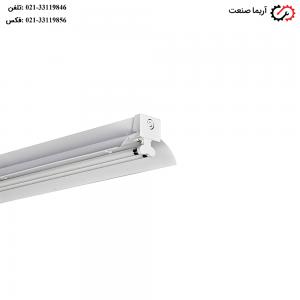 چراغ فلورسنتی صنعتی T5 مازی نور مدل فورته با توان مصرفی 24 وات