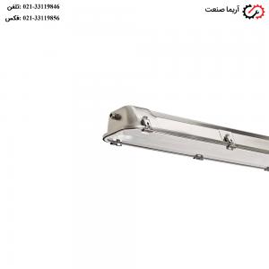 چراغ IP65 صنعتی فلورسنتی 36 وات مازی نور مدل سیلمت