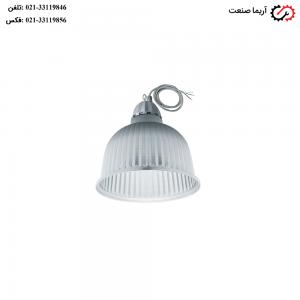 چراغ کارگاهی ضدنم و غبار آویز 90 وات مازی نور مدل آپولو