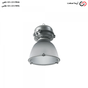 چراغ آویز صنعتی کارگاهی IP65 مازی نور مدل آپولو